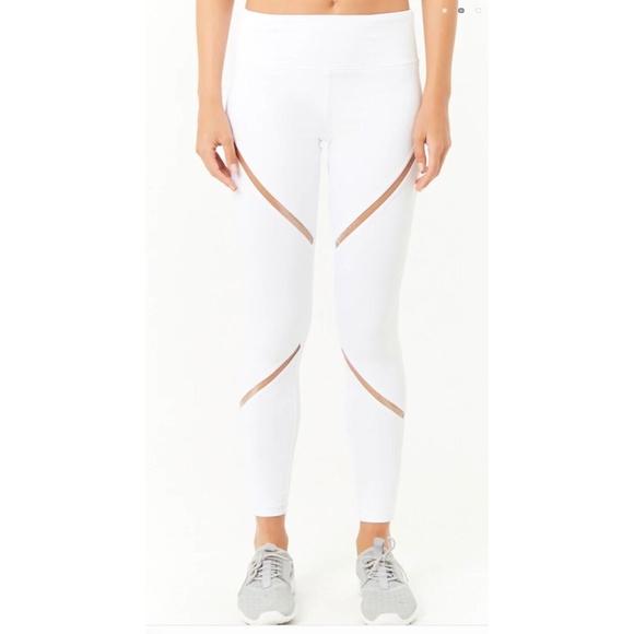 7a515c7d38bf1b Forever 21 Pants | Active Threaded Panel 78 Leggings Nwot | Poshmark
